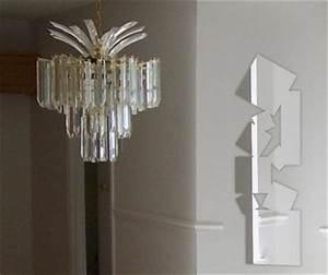 Petit Miroir Carré : miroir carre d co loft miroir design ~ Teatrodelosmanantiales.com Idées de Décoration