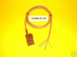 Cable 63 Motorola 16 Pin Maxtrac Gm300 Vhf Uhf Repeater