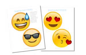 free emoji fan printables our peaceful planet