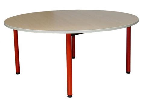 table ronde gamme tic 120 table clara ronde diamètre 120 cm artprog