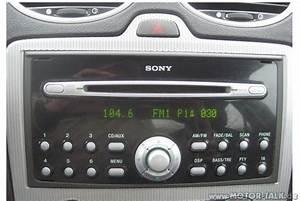 Sony Autoradio Ford Focus Bedienungsanleitung