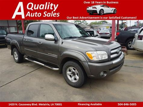 Toyota Metairie by 2006 Toyota Tundra Sr5 4wd In Metairie La A Quality Auto