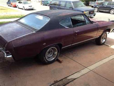 Buy New 1968 Chevelle Ss 396 Engine Chevy In Antioch