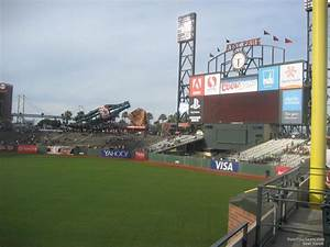 At T Park Seating Chart With Rows And Seat Numbers At T Park Section 150 San Francisco Giants