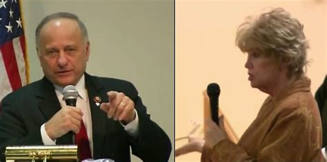 Watch Steve King and Voter Who Wants 'Sting' Out of Word ...