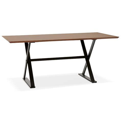 table de bureau en bois table design en bois de noyer bureau moderne