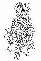 Coloring Flower Pages Bouquet Flowers Roses Forget Drawing Printable Rose Colorings Clipartqueen Getcolorings Bouquets Getdrawings Bell Templates Print Buttercup sketch template