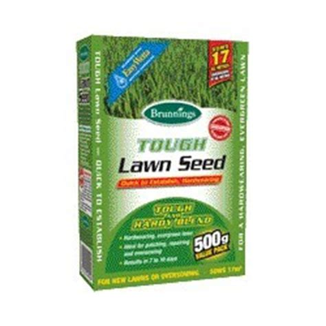 tough grass seed brunnings tough lawn seed 500 grams for sale shop online or sydney store