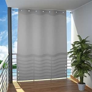 Vorhang Für Balkon : seitlicher balkonsichtschutz ~ Watch28wear.com Haus und Dekorationen