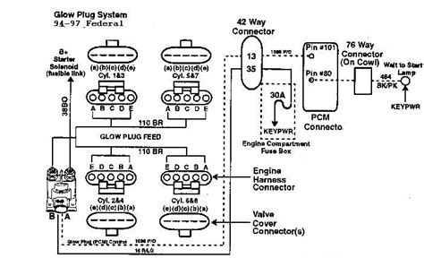 Need Schematic For Glow Plug Wiring Ford Truck