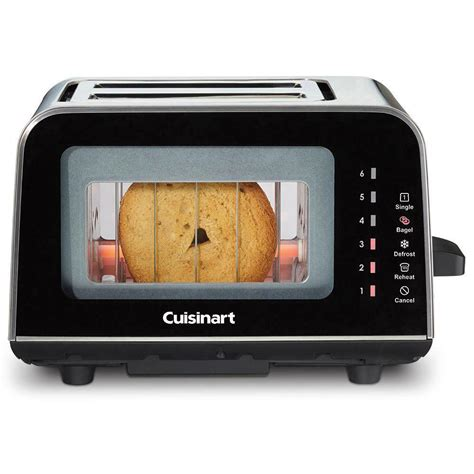 All Black Toaster by Cuisinart 2 Slice Black Toaster Cpt 3000 The Home Depot