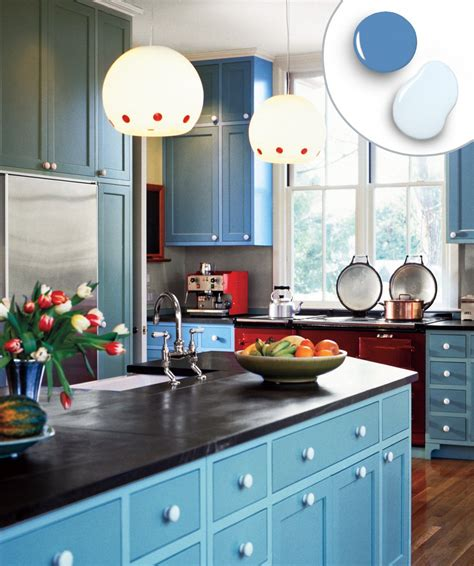 bold kitchen colors 12 kitchen cabinet color combos that really cook simple 1758