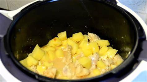 recette cookeo poulet paprika et pommes de terre youtube