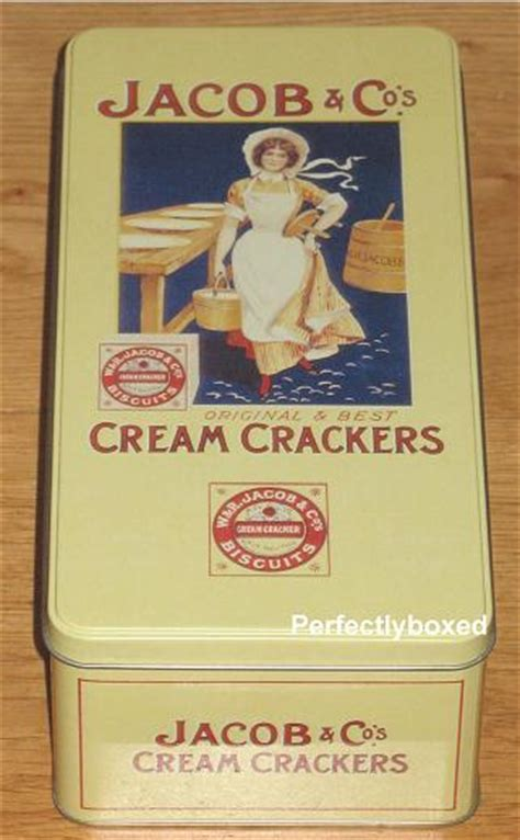 Opie Jacobs Cream Cracker Tin at www.perfectlyboxed.com