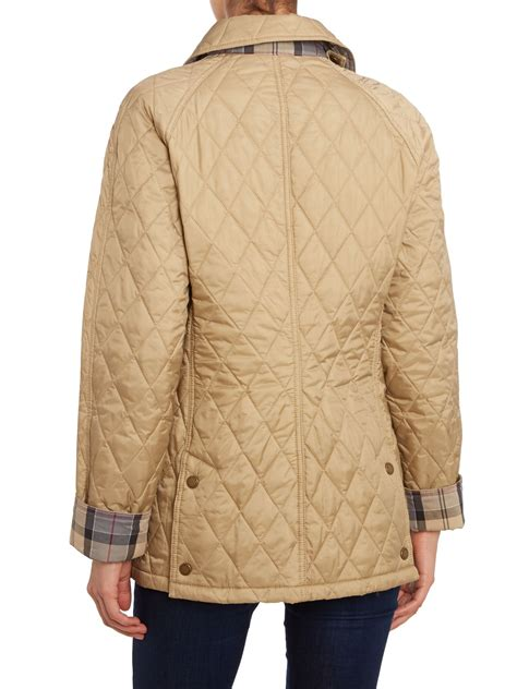 barbour beadnell quilted jacket barbour summer beadnell lightweight quilt jacket in