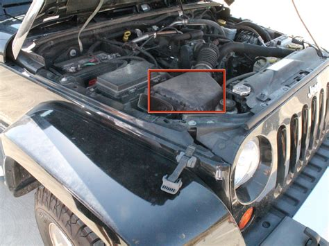 Jeep Wrangler Air Filter Replacement
