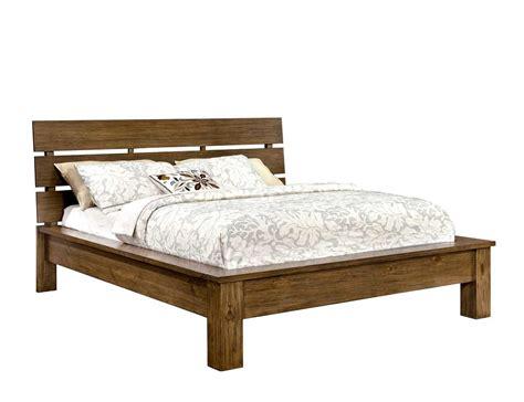 platform bed  rustic finish fa platform beds