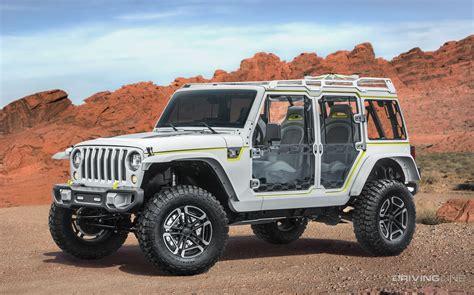 Unveiled 2017 Jeep Concept Vehicles Drivingline