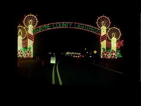 hines drive christmas lights hines drive wayne county lightfest 2010 youtube