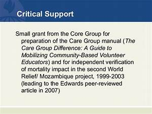 Care Group Presentation 29 May2014