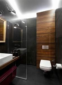 le carrelage effet beton en 55 photos inspirantes With carrelage gris anthracite salle de bain