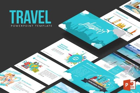 travel powerpoint template  inspirasign  envato elements