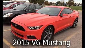 2015 Ford Mustang V6 0-100 MPH - YouTube