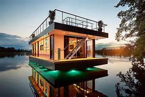 Wohnen Auf Dem Hausboot : sch ner wohnen auf dem wasser magazin ~ Markanthonyermac.com Haus und Dekorationen