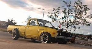 The Rat Bastard: VQ-powered Datsun 620 Drift Truck
