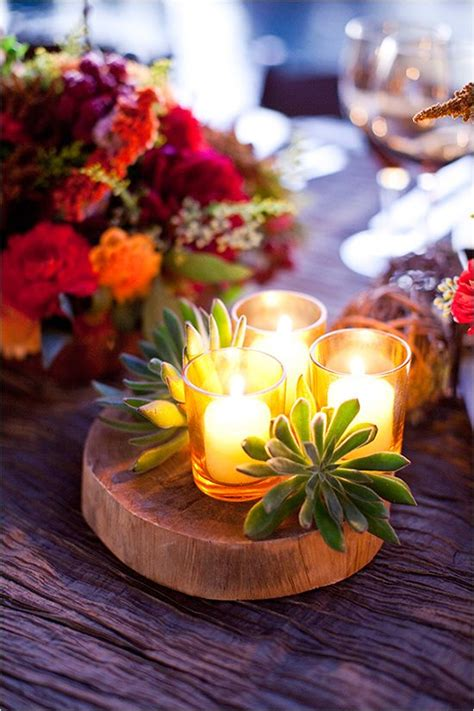 Fall Table Decor Ideas  Flower, Centerpieces And Tables