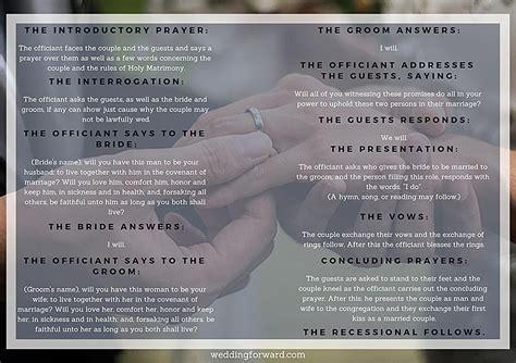 wedding ceremony outlines   templates wedding