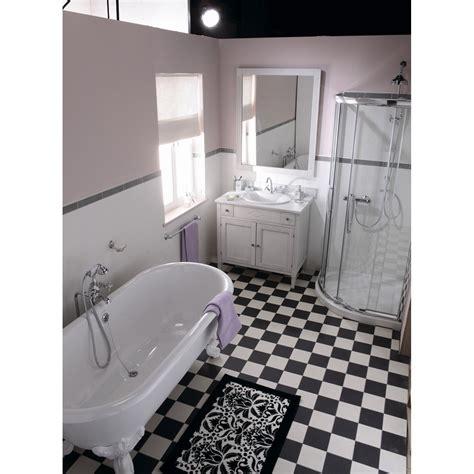 indogate carrelage salle de bain blanc gris