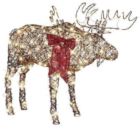 christmas moose decorations lighted billingsblessingbagsorg