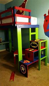 25 best ideas about bunk bed with desk on pinterest bed With choosing boys bunk beds for your superhero