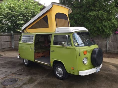 Vw Type Ii Campmobile Westfalia Bus