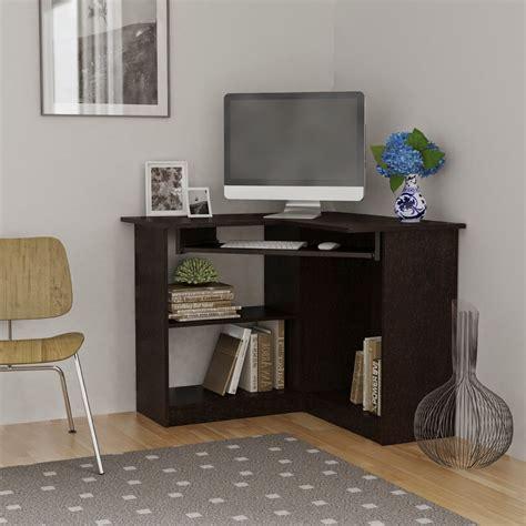Small Black Corner Computer Desk by Corner Computer Desks Corner Computer Desks For Small Spaces