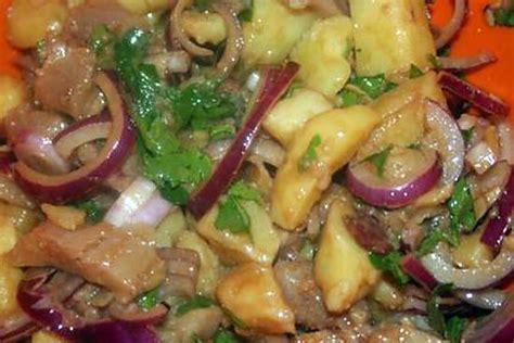 recette de salade tiede pommes de terre harengs fumes