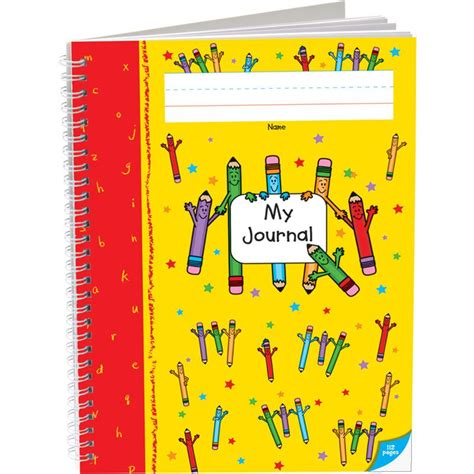 Deluxe Spiral Draw And Write Journals (pencil Cover) Prek K