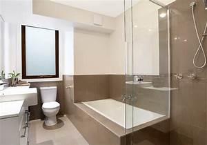 beau photos decoration salle de bain moderne avec idee With porte de douche coulissante avec artisan renovation salle de bain bordeaux