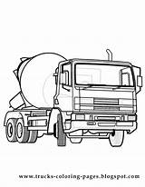 Coloring Truck Pages Trucks Pickup Printable Chevy Wheeler Cars Garbage Drawing Fire Drawings Construction Cliparts Lifted Tundra Toyota Dump Draw sketch template