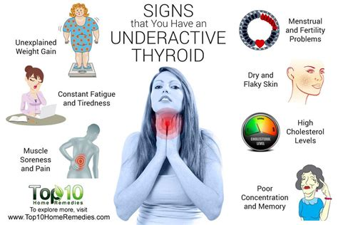 signs  symptoms     underactive thyroid