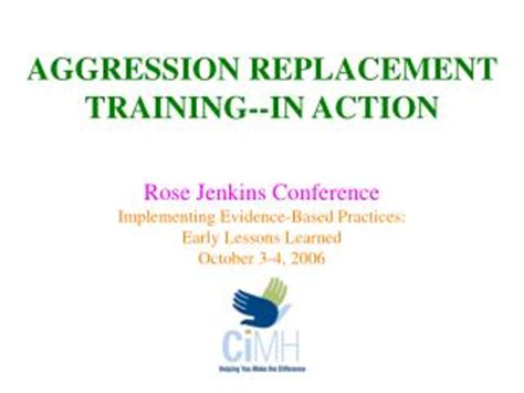 aggression replacement training  action