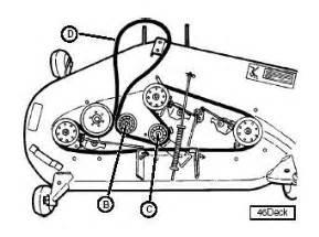 john deere lt160 mower deck belt diagram car interior design
