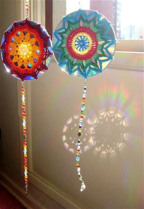 wonderful diy ideas     cds diy