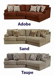 Malibu Taupe Chenille Fabric BUILD YOUR OWN Sectional