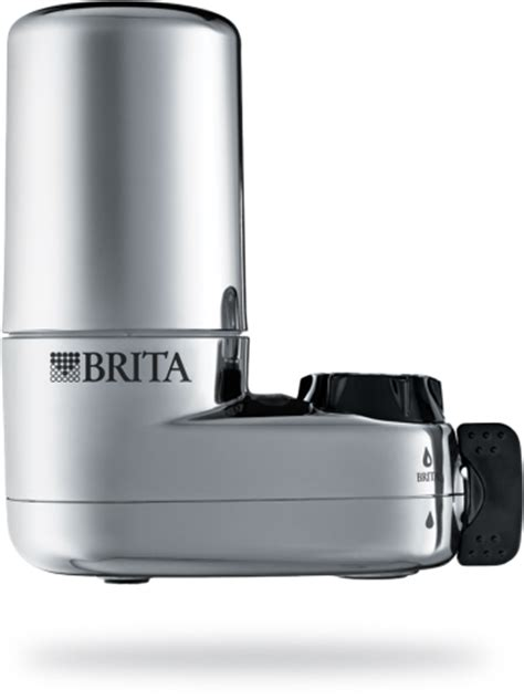 Brita Faucet Mount Chrome Filter by Water Filters