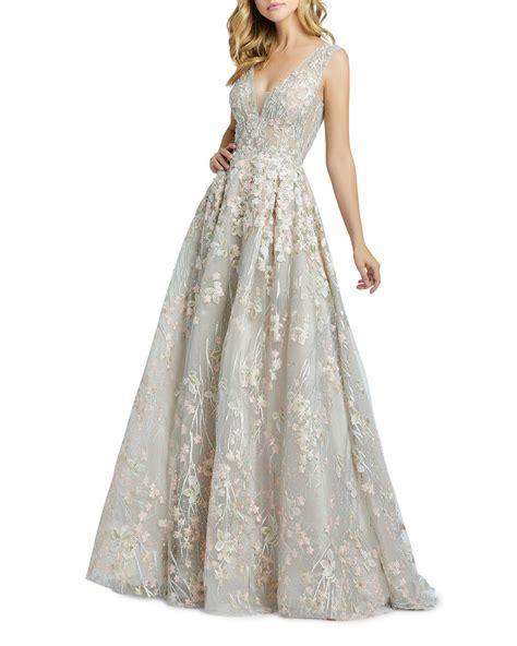 Get the best deal for mac duggal from the largest online selection at ebay.com.au browse our daily deals for even more savings! Mac Duggal Floral Embroidered V-Neck Sleeveless A-Line ...