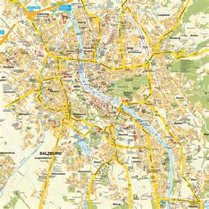 Salzburg Austria Map