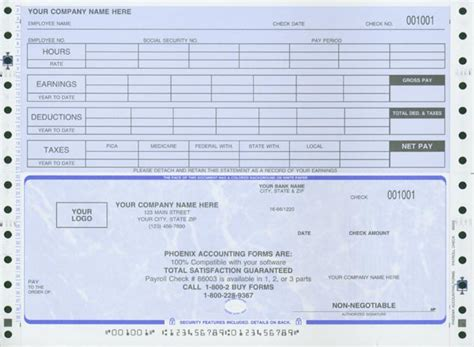 payroll check template fillable free printable pay check stub templates html autos post