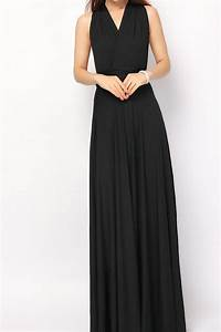 black maxi dress wedding minimalist navokalcom With black maxi dress for wedding